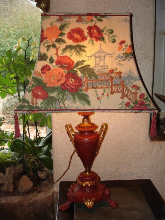 pagode en coton
